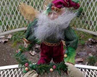 Vintage Elf Pixie Doll