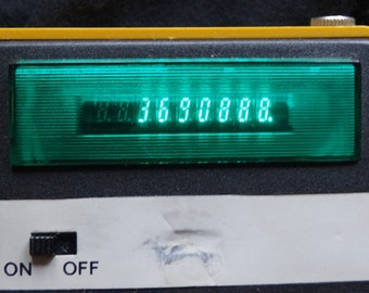 Elka 131 Calculator Green Bulgarian Vintage Scientific Led Bulgaria Display 135 Desktop Electronic Gas Discharge Tubes 243 70ss 70s
