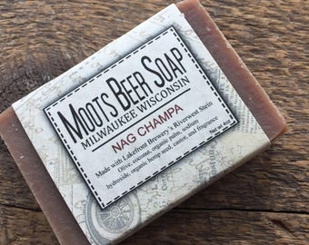 Nag Champa - Beer Soap