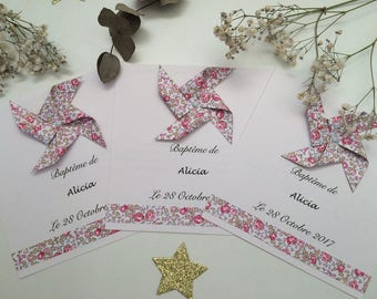 Make wedding baptism invitation