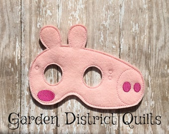 Inspired Peppa Pig Face Mask Great for Birthday Parties, dress up, Cosplay, party favors or Halloween Costumes