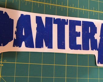 Pantera Decal- Blue
