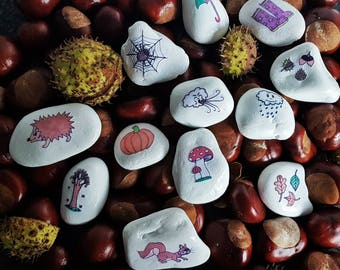 Story Stones Theme Autumn | Tell Stone theme Autumn