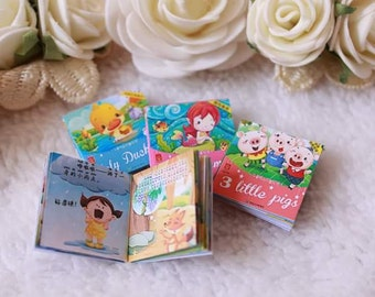 Fairy tale book sets for your dolls