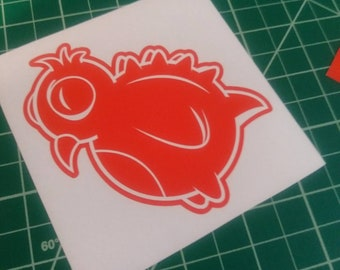 Dino-Bird vinyl decal
