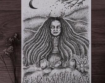 The Watcher ~ Art Print