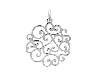 Arabesque necklace in sterling silver