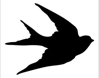 Sparrow Vinyl Sticker Decal
