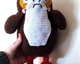 Porg Plushie Star Wars Inspired Porg Soft Toy Cuddly Toy Crochet Porg Gift Plush