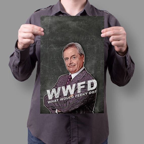 "Mr. Feeny Boy Meets World ""What would Feeny do?"" 90's ABC TV Show 11x17 Poster"