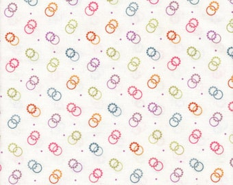 Easter Garden from the Collection of Edelan Wille for Marcus Fabrics, Fabric by the yard, R25 1084 0140