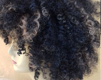 Afro synthetic wig