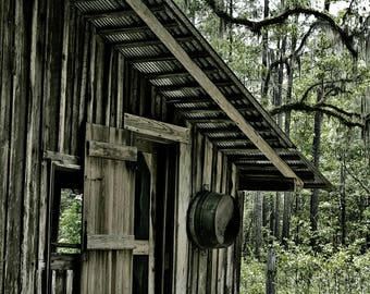 Rustic Barn, Rustic Barn Photography, Dramatic,Farmhouse,Cabin Wall Art,River Life,Rustic,Vintage,Wall Art,Cabin Decor,Country,Home Decor