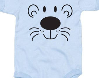 """Tiger"" personalized baby Bodysuit"