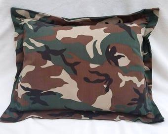 Camo, Nap Pillow, Daycare Pillow, Hunting Pillow, Travel Pillow, Toddler Pillow, Bed Pillow, Pet Pillow, Accent Pillow, Decorative Pillow