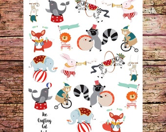 Circus Planner Stickers - Large