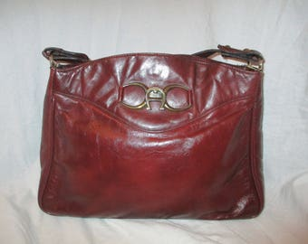 Etienne Aigner leather shoulder bag