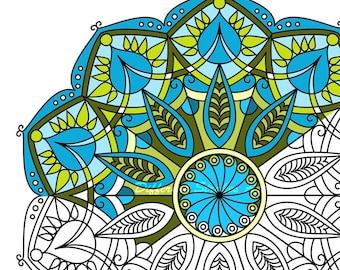 Mandala coloring pages printable for adults Coloring Mandala