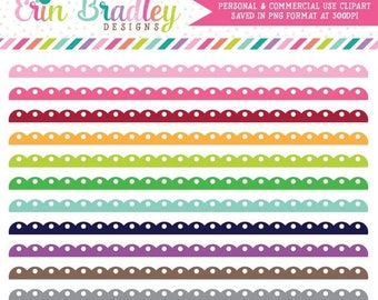 80% OFF SALE Fancy Scalloped Borders Clipart Clip Art Personal & Commercial Use Digital Graphics