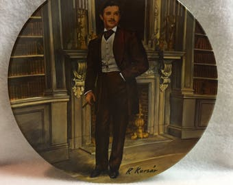 Knowles Gone with the Wind Collector Plate - 'Rhett' (#264)