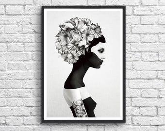 Art-Poster 50 x 70 cm - Marianna - by Ruben Ireland