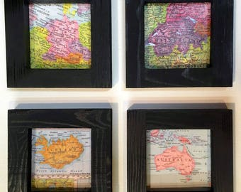 Map Travel Wall,  Keep a memory Alive, HONEYMOON Gift, Wedding Map Gift, Missionary gift, College Travel Gift