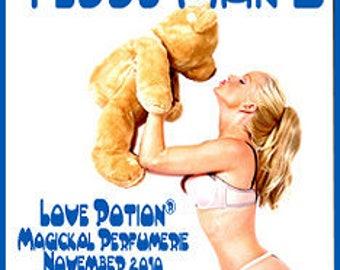 Teddy Man - for Men / Unisex - Pheromone Enhanced Fragrance - Love Potion Magickal Perfumerie
