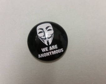 Cabochon - 25 mm - We are Anonymous