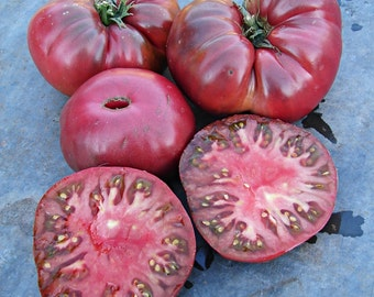 Black Giant Tomato Heirloom Garden Seed Non-GMO 30+ Seeds Naturally Grown Open Pollinated Gardening