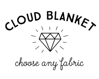 Baby Blanket Choose Any Fabric. The Cloud Blanket. Faux Fur Baby Blanket. Minky Baby Blanket. Custom Baby Blanket. Baby Bedding.