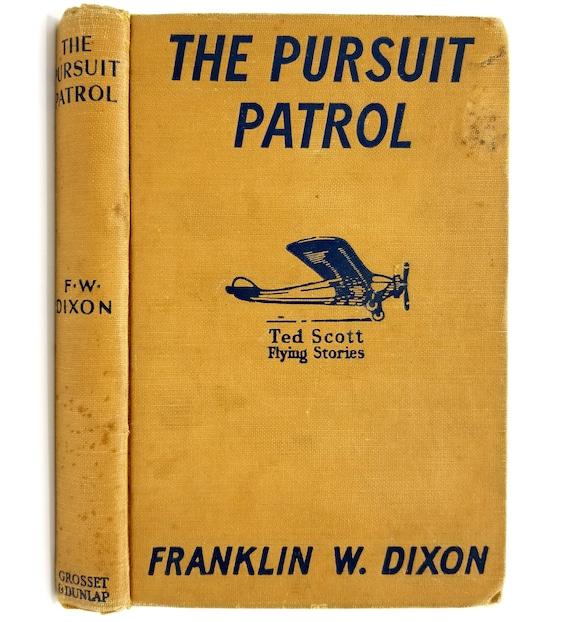 The Pursuit Patrol or Chasing the Platinum Pirates Franklin W. Dixon 1943 Grosset & Dunlap - Hardcover HC - YA Juvenile Fiction
