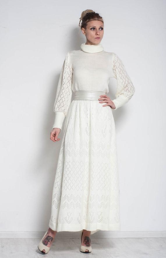 Long Ivory Dresses for Women