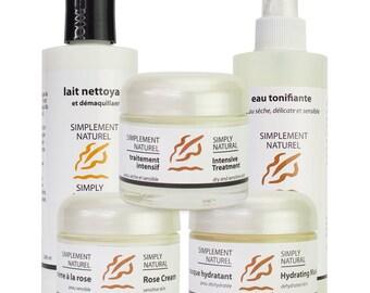 Complete Skincare Bundle For Sensitive Skin Types