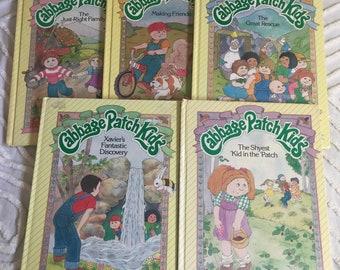 5 Vintage Cabbage Patch Kids Books Children's Books