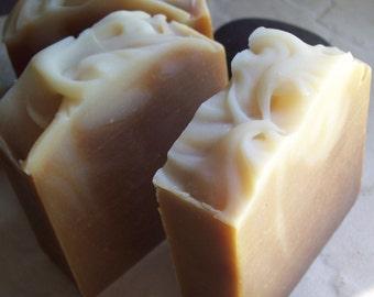 Honey Soap, Milk and Honey Soap, Organic Soap, Unscented Soap, Coconut Milk Soap, Natural Soap, Handmade