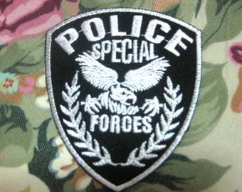 POLICE SPECIALFORCE PATCH badge