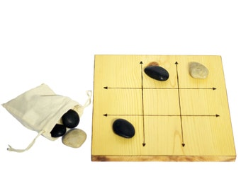 Wood Tic Tac Toe Game Board - Light