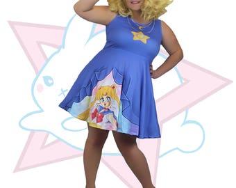 Sailor Moon | Skater Dress | Sailor Moon Manga | ULFRUNA