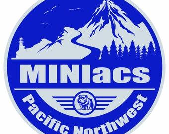Grill Badge- PNW MINIacs