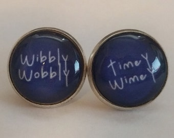 Doctor Who - Wibbly Wobbly Timey Wimey Earrings