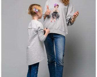 Stylish casual sweatshirt from TM «Konstantin Miro by FashionArt»