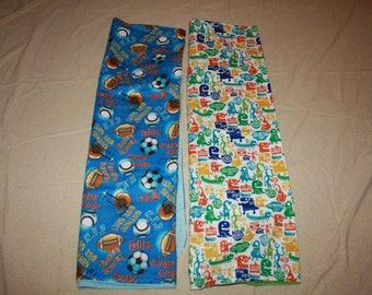 Flannel Receiveing Baby blankets