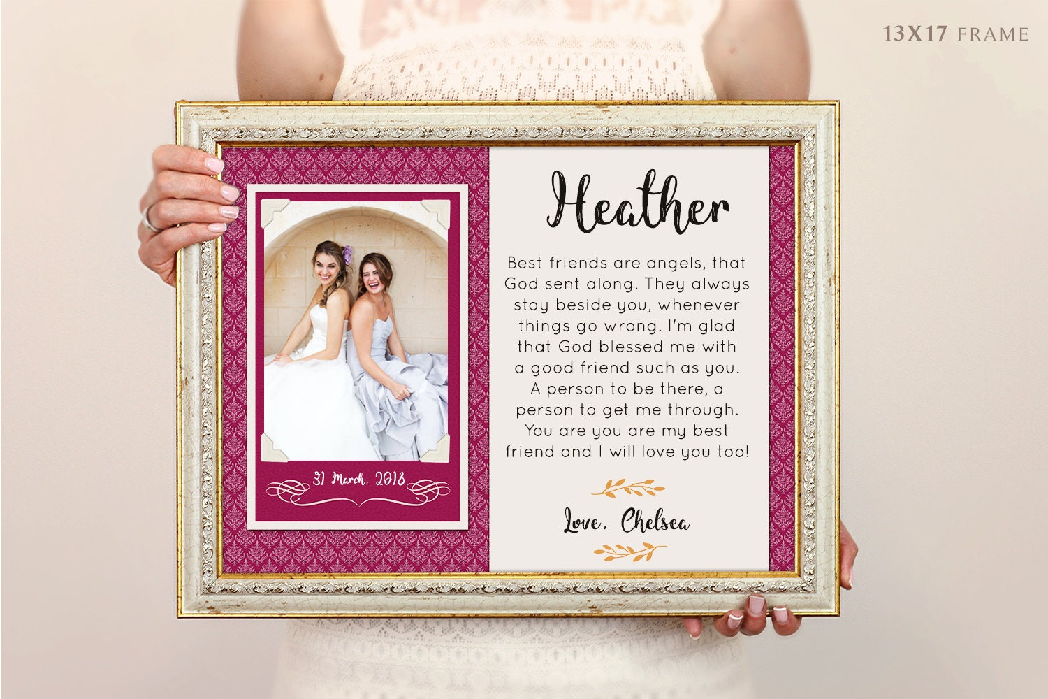 Bridesmaid Gift Sister Of The Bride Gift Wedding Gift For
