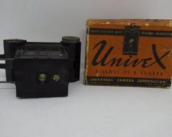 Vintage UniveX Universal Camera +Box c1933 Miniature
