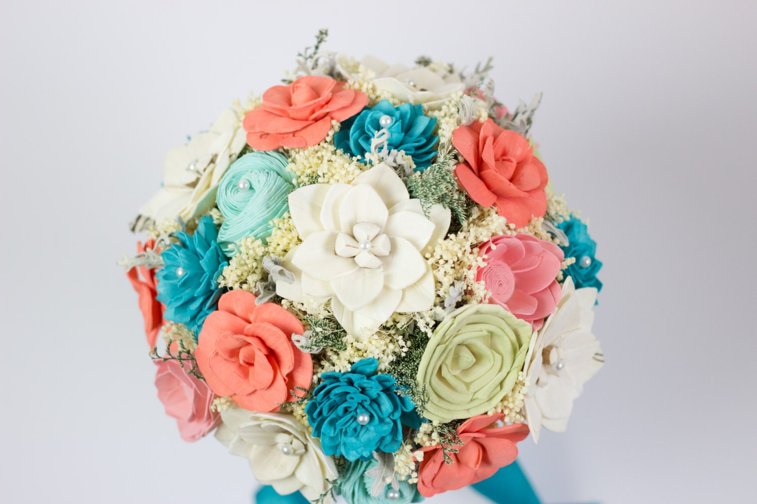 Completely new Turquoise Flower Arrangements &QI87 ...