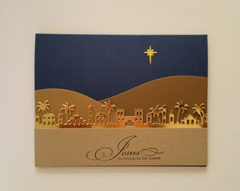 Bethlehem Christmas Card Kit
