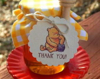 Winnie The Pooh Gift Tags