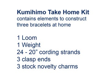 Kumihimo Take Home Kit