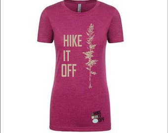 Hike It Off Women's Tee in Lush