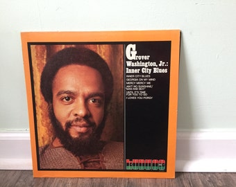 "Grover Washington Jr. ""Inner City Blues"" vinyl record"